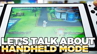 Hands-On Experience with Handheld Mode - Pokemon Let