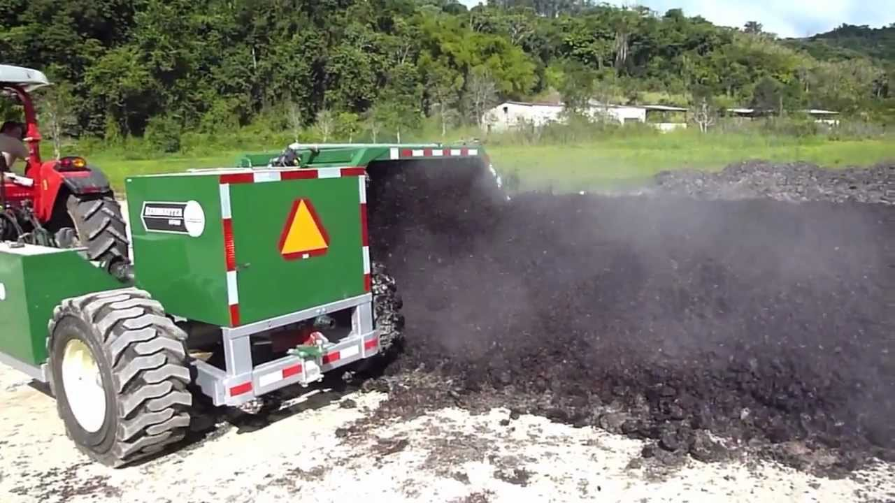 Windrow Composting of Agricultural Residues