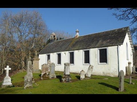 Parish Church And Graveyard Glen Devon Perthshire Scorland