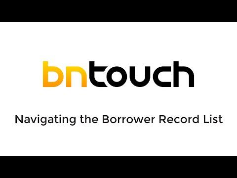 Mortgages Tab: Mortgage Record List