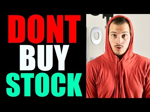 3 Reasons TO NOT BUY A STOCK! | Dividend Investing, Growth Investing, Stock Market Investing