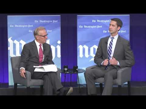 October 5, 2017: Sen. Cotton joins The Washington Post with