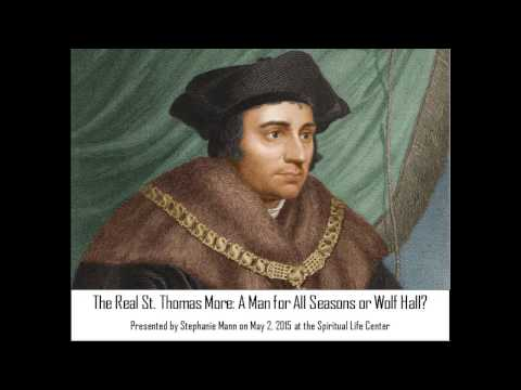 The Real St. Thomas More