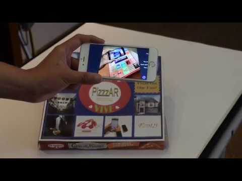 PizzzAR | AR enabled Advertising through Pizza Box