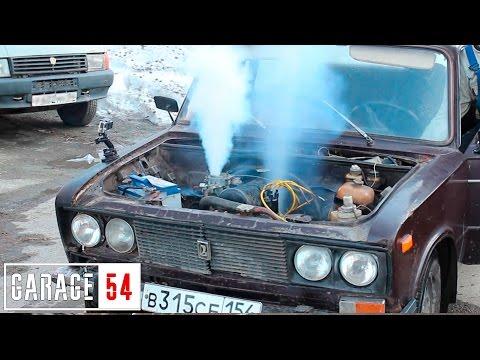 «Оку» запустил в небо новосибирский «Гараж 54»