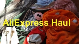 AliExpress Haul Accessories, Wigs, Anime things and Stuff :B