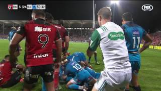 2017 Super Rugby Rd 4: Crusaders v Blues 2017 Video