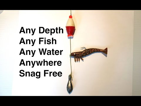 Snag Free Fishing Rig: 100% Bite Feel Bridge Jetty Pier Reef Rocks Surf Beach Drop Shot  Rigs Video