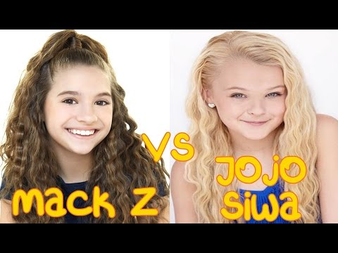 Mack Z (I Gotta Dance) vs Jojo Siwa (Boomerang) | Singing Battle