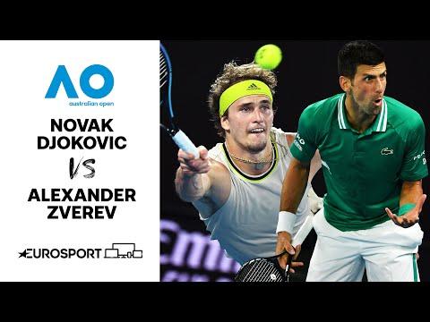 Novak Djokovic v Alexander Zverev | Australian Open 2021 - Highlights | Tennis | Eurosport
