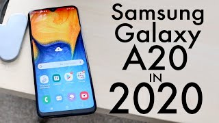 Samsung Galaxy A20 In 2020! (Still Worth It?) (Review)