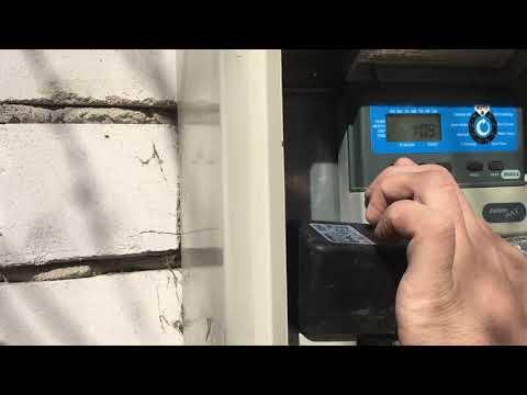 Настройка пульта управления автоматического полива (часть 1)