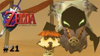 Viaje por el desiertoThe Legend of Zelda Ocarina of Time capítulo21