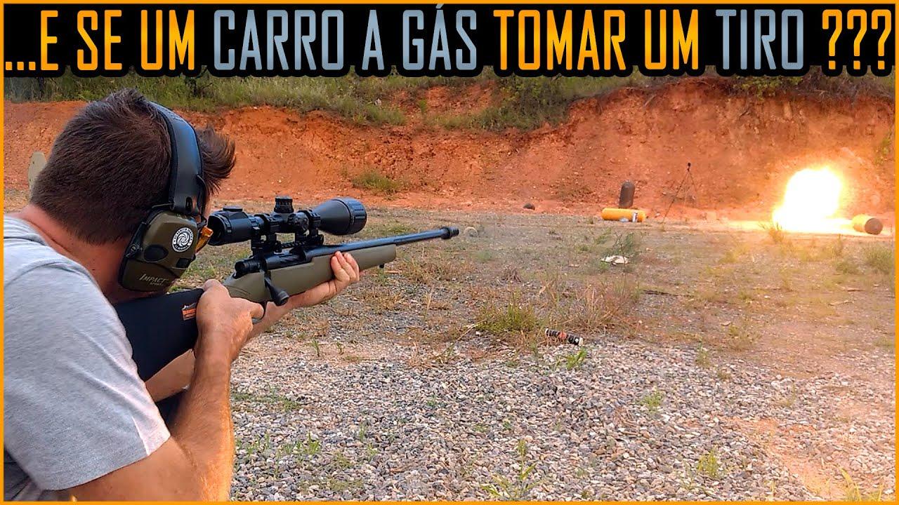 Botijão de Gás de Carro x Fuzil , 9mm e 44 Magnum #CilindroGNV #KitGNVE
