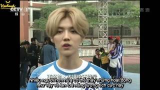 [Vietsub] 160407 CCTV Focus Report - Luhan & Running Man Members