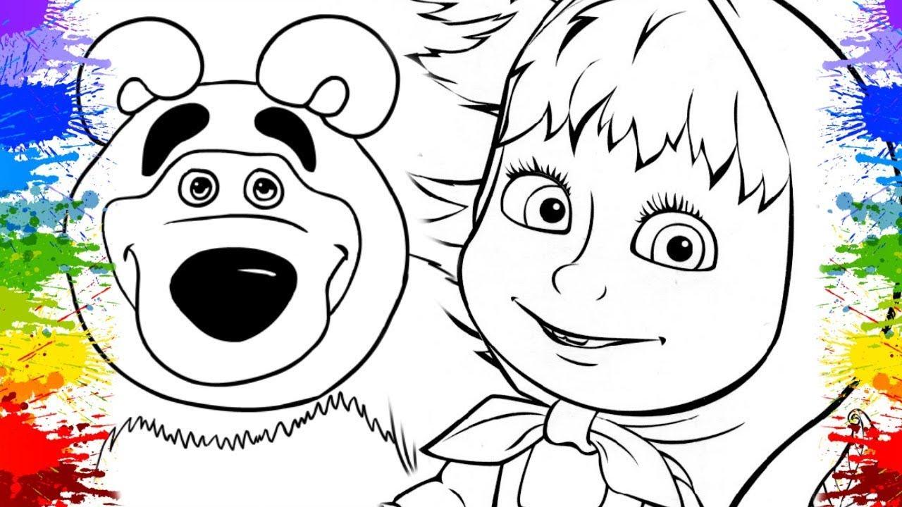 Desenho Da Masha Eo Urso Em Portugues Series Educativas Desenhos