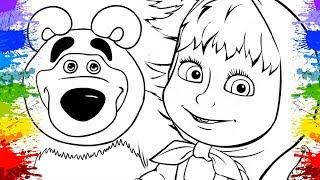 Desenho da Masha eo Urso em Portugues Séries educativas Desenhos Animados Masha and the Bear kids