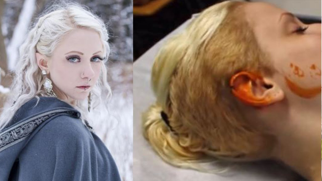 Lotr Fall Wallpaper 23 Yr Old Has Surgery To Shape Her Ears Like An Elf Youtube