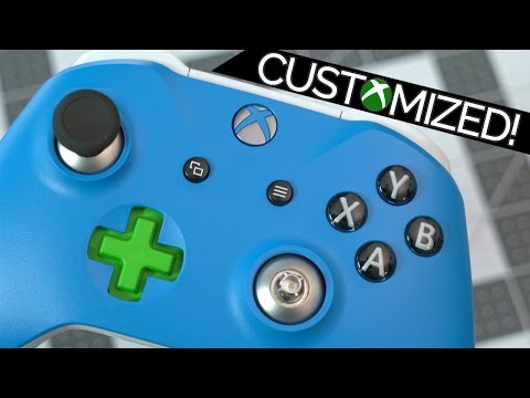 New Xbox One Custom Controller Unboxing & Elite Modification!