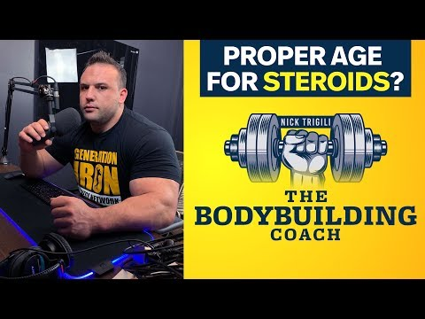 What Is The Proper Age For Bodybuilders To Start Using Steroids? | The Bodybuilding Coach Mp3