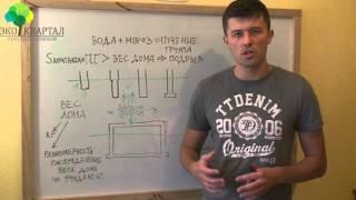 видео Морозное пучение грунта