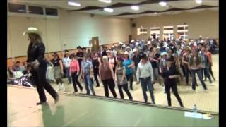 5,6,7,8 (five, six, seven, eight) Line dance