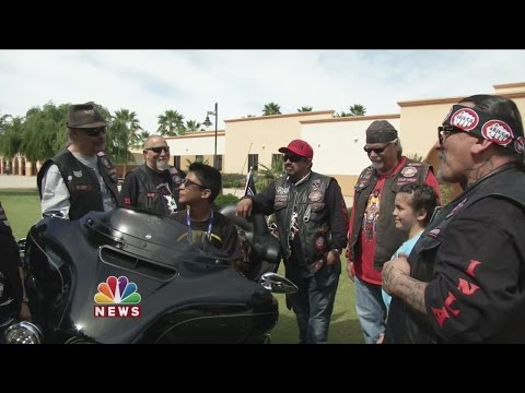 Bikers Gang Up Against Child Abuse