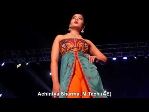 Amity Youth Fest-2017, Fashion Walk/ Show complete, Amity University, Noida