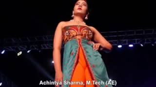 amity youth fest 2017 fashion walk show complete amity university noida