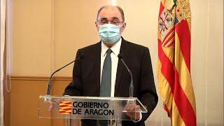 Aragón anuncia el confinamiento perimetral de Zaragoza, Huesca y Teruel