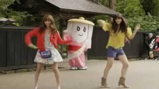 Японская реклама жевательной резинки Fits , внимание реклама может ...