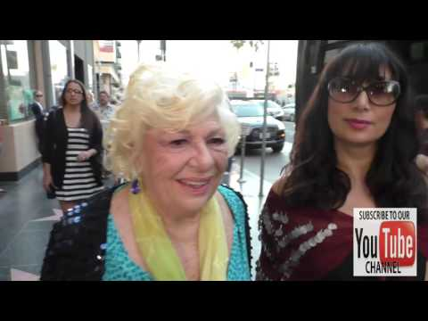 Renee Taylor talks about how she loves the theatre at the Cabaret Opening Night at Pantages Theatre