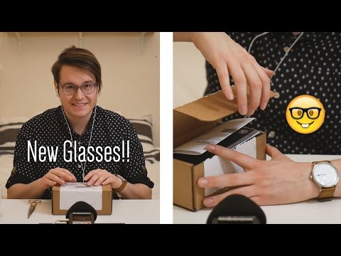 **New Glasses Unboxing** | ASMR | Whispered