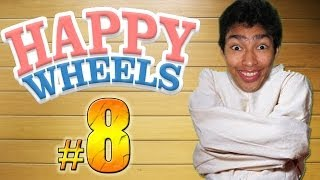 NO TE MUEVAS O PIERDES !! - Happy Wheels: Episodio 8
