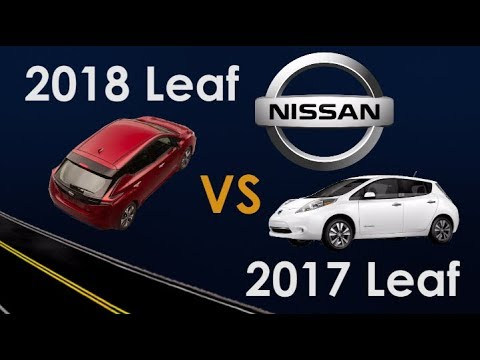 2018 Nissan Leaf vs 2017 Nissan Leaf: What's New?