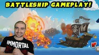 Battleship Of Pacific War: Naval Warfare Gameplay - FREE BATTLESHIP GAME! - (Let