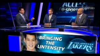 Access Sportsnet on Jeremy Lin and Kobe.  Lin needs to be the facilitator