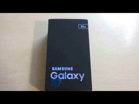 Unboxing Samsung Galaxy S7 G930 4G LTE 32GB