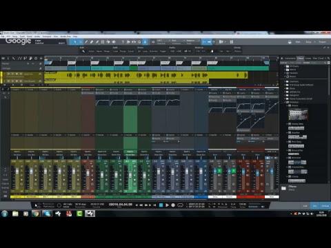 Jonny Lipsham Studios LIVE: Backwards Mixing (Among other things)