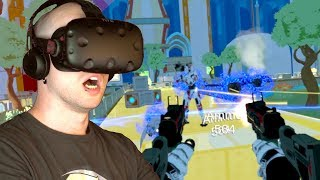 HARDEST VR GAME YET!? | Bit Storm VR: First Loop (HTC Vive Virtual Reality Gameplay)