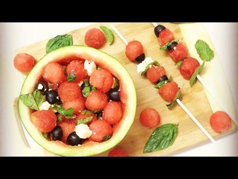 Watermelon feta & grapefruit Summer salad | Effortless Food