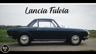 4K - LANCIA FULVIA 1.3 RALLYE 1967  - Test drive in top gear - Engine sound | SCC TV