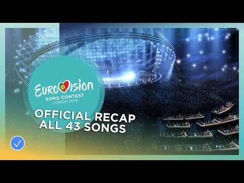 RECAP: All the 43 songs of the 2018 Eurovision Song Contest