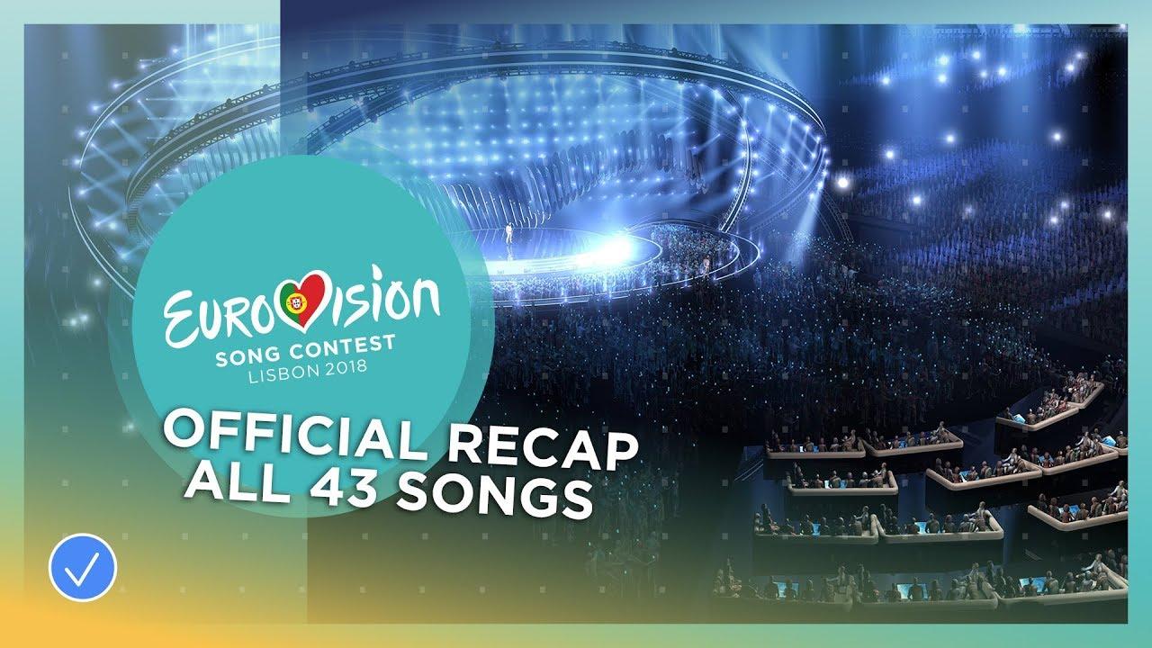 Сите песни кои ќе ги слушнеме на Евровизија 2018 во едно видео