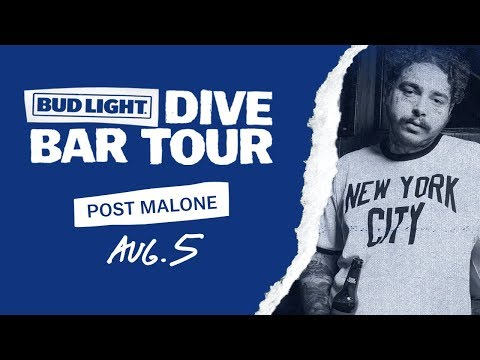 Bud Light Dive Bar Tour with Post Malone - New York