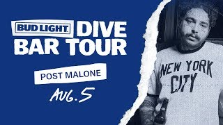 Gambar cover Bud Light Dive Bar Tour with Post Malone - New York