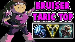 BRUISER TARIC TOP IS ACTUALLY BROKEN WTF | NEW META? | League of Legends