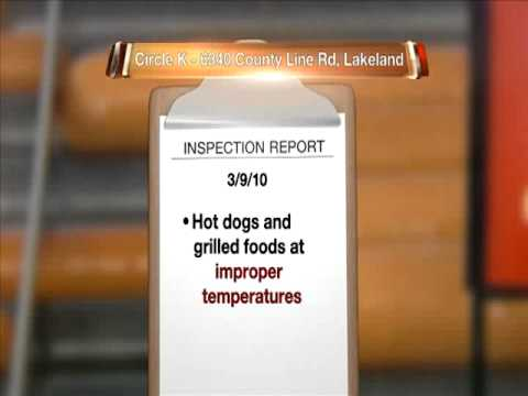 WFTS TV  SERIES REPORTING DIRTY DINING COMPILATION