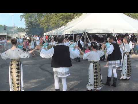 Romanian fest at St Mary Cleveland OH.