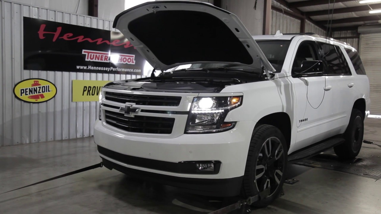 2018 Chevy Tahoe RST Chassis Dyno Testing - YouTube